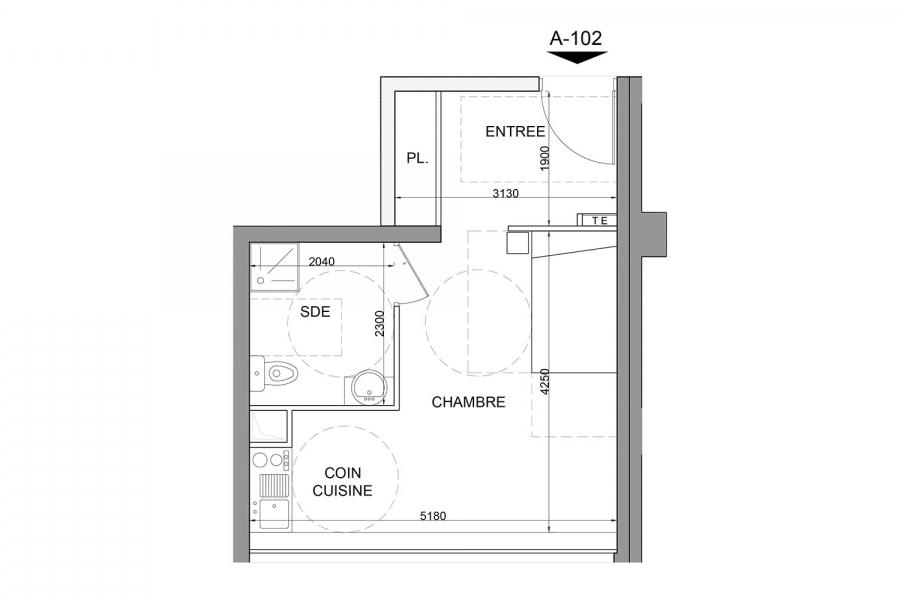 Appartement A - 102