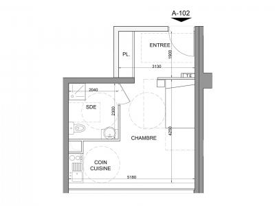 Appartement A - 102